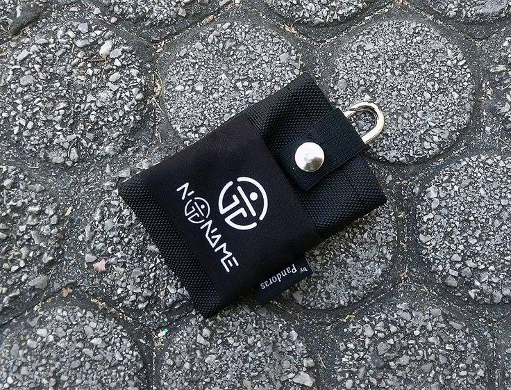 Pandoras black belt pouch NoName logo