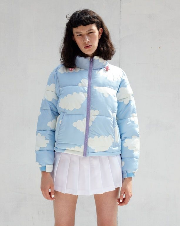Lazy Oaf Cloud Puffer Jacket - 15th Birthday Collection