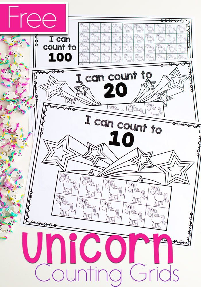 Who Can Resist Unicorns For Math With Images Kids Math