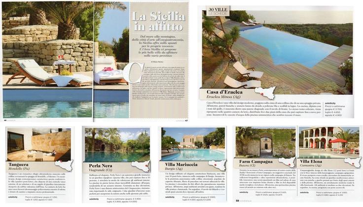 Exquisite villas in Sicily #Holiday #Relax #Mediterranean