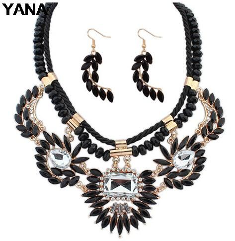 This is nice, check it out!   YANA Hot Sale! Fashion Jewelry 4 Colors Big Crystal Jewelry Set Statement Necklace Earrings Woman 2015 New Z01 - US $7.02 http://thecrystaljewelry.com/products/yana-hot-sale-fashion-jewelry-4-colors-big-crystal-jewelry-set-statement-necklace-earrings-woman-2015-new-z01/