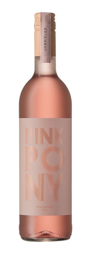 "The Award Winning Label for ""Pink Pony"" is all about celebrating the gorgeous blush pink colour synonymous with the perfect Rose'!"