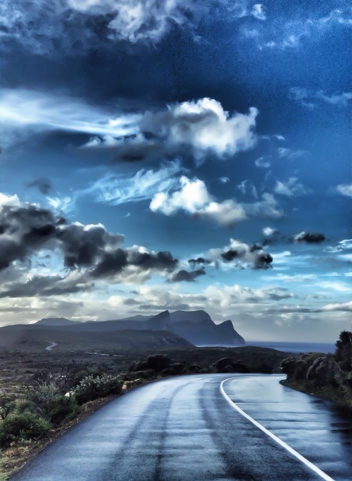 Road to Pringle Bay & Betty's Bay, Cape Peninsula, South Africa.