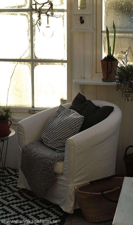 The garden room in december