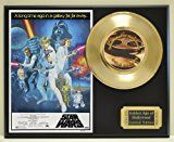 #7: Harrison Ford Mark Hammel and Carrie Fisher in Star Wars Limited Edition Gold 45 Record Display. Only 500 made. Limited quanities. FREE US SHIPPING