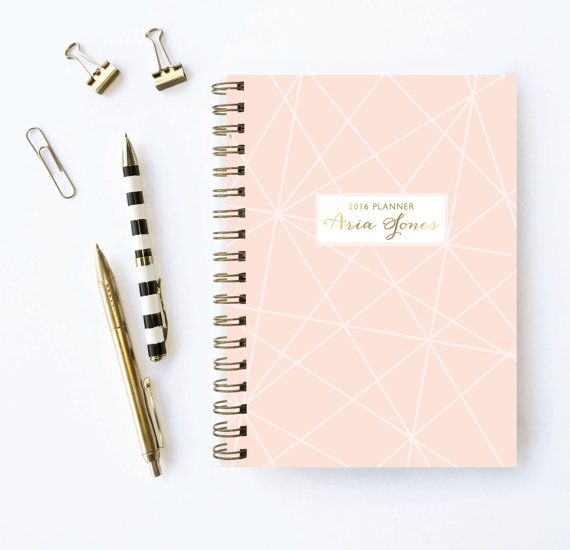 Personalized Planner - Choose your start month! Planner by Karma Paper Co.