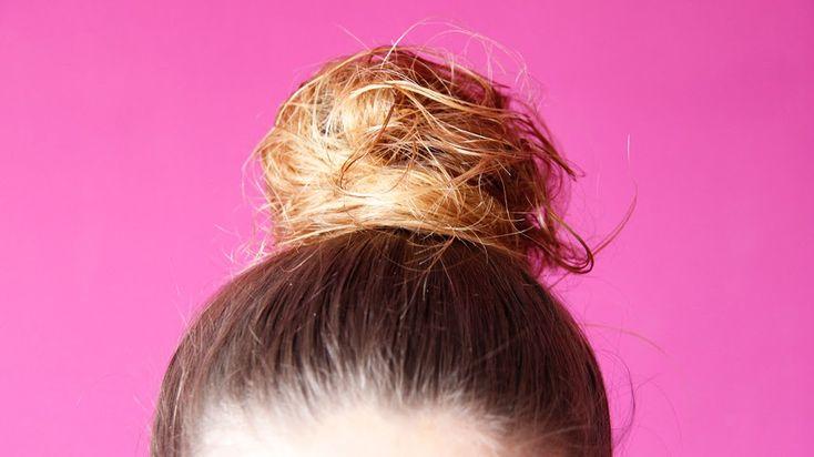 How to: Cute Messy Bun | TUTORIAL