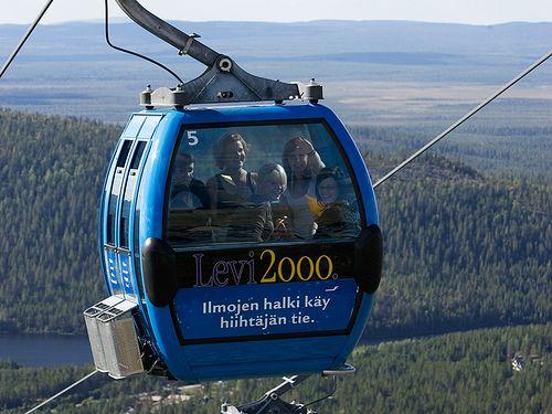 Gondola2000 cabin lift #Levi #Lapland #Finland