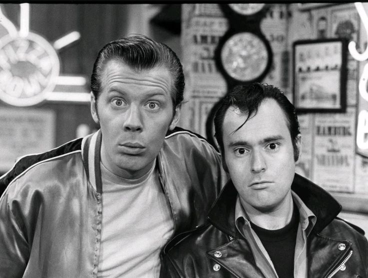 Lenny & Squiggy (Michael McKean and David Lander)