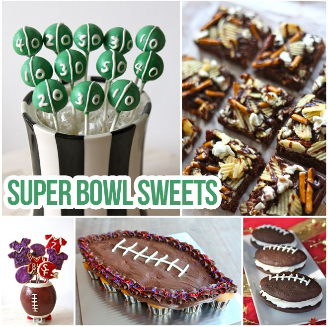 Super Bowl Desserts To Please The CrowdsDesserts Recipe Bowls Sweets