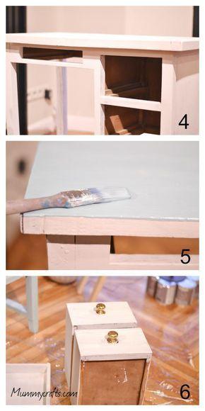 Decapar un mueble con pintura a la tiza chalk