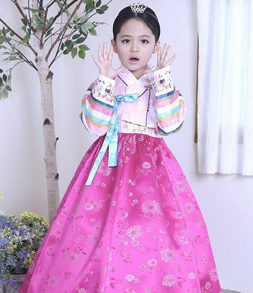 Girl Hanbok Korean tranditional clothes 3005 dress wedding Party Korea Women