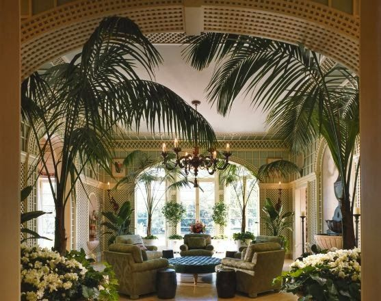Decorating Tropical Style  garden rooms  Tropical