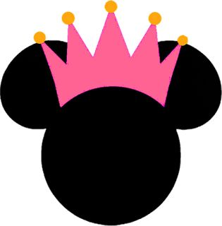 Minnie Princesa - Kit Completo com molduras para convites, rótulos para…