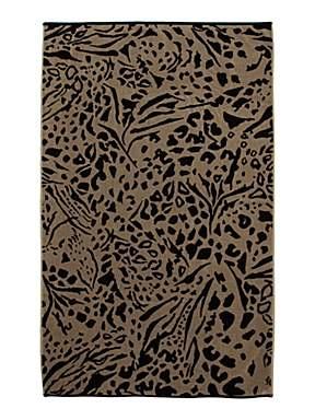 Animal print beach towel £28