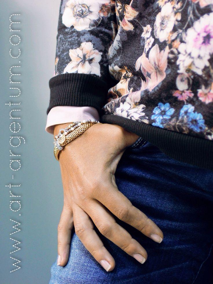 Colecção de Pulseiras em Prata Diva Woman. #pulseiras #prata #diva #dourado #zircónias #anjo
