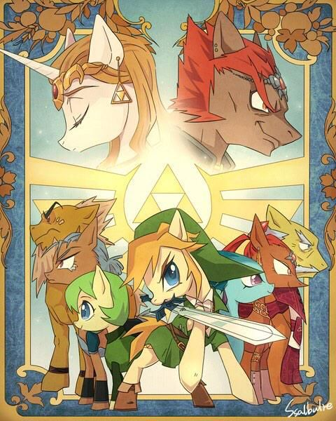 Oh how I love the #legendofzelda #brony