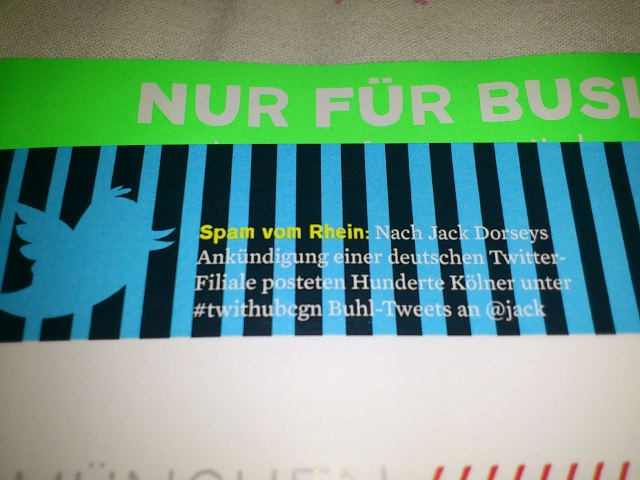 Business Punk  Ausgabe 01 2012 #twithubcgn