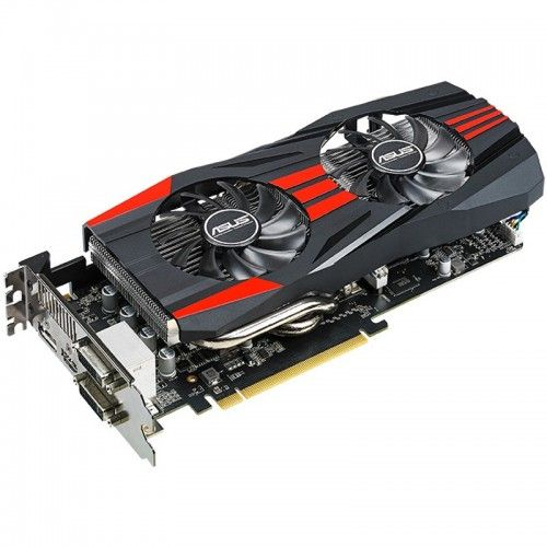 Placa video ASUS AMD R9 270X DirectCU II Top 2GB DDR5 256-bit, R9270X-DC2T-2GD5