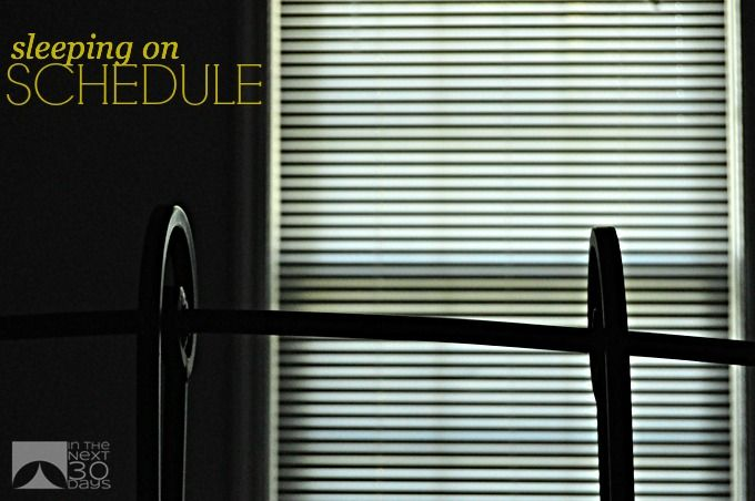Why Scheduling Sleep is Important | In The Next 30 Days
