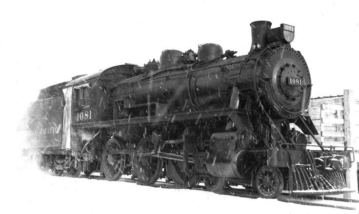CPR 1081 - 4-6-0 Orangeville 1956