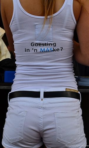 Goesting in 'n MASke? MAS gives new meaning for girls