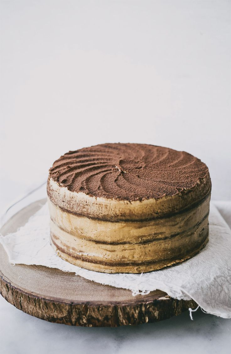 Cappuccino cake recipe from Top With Cinnamon by Izy Hossack | Cooked