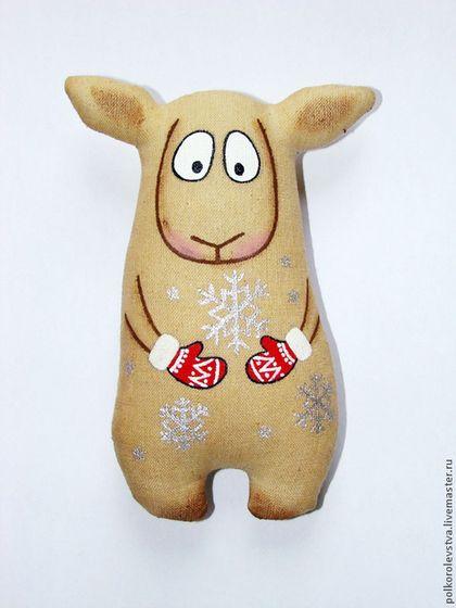 Ароматизированные куклы ручной работы. Ярмарка Мастеров - ручная работа Овечки зимние. Handmade.