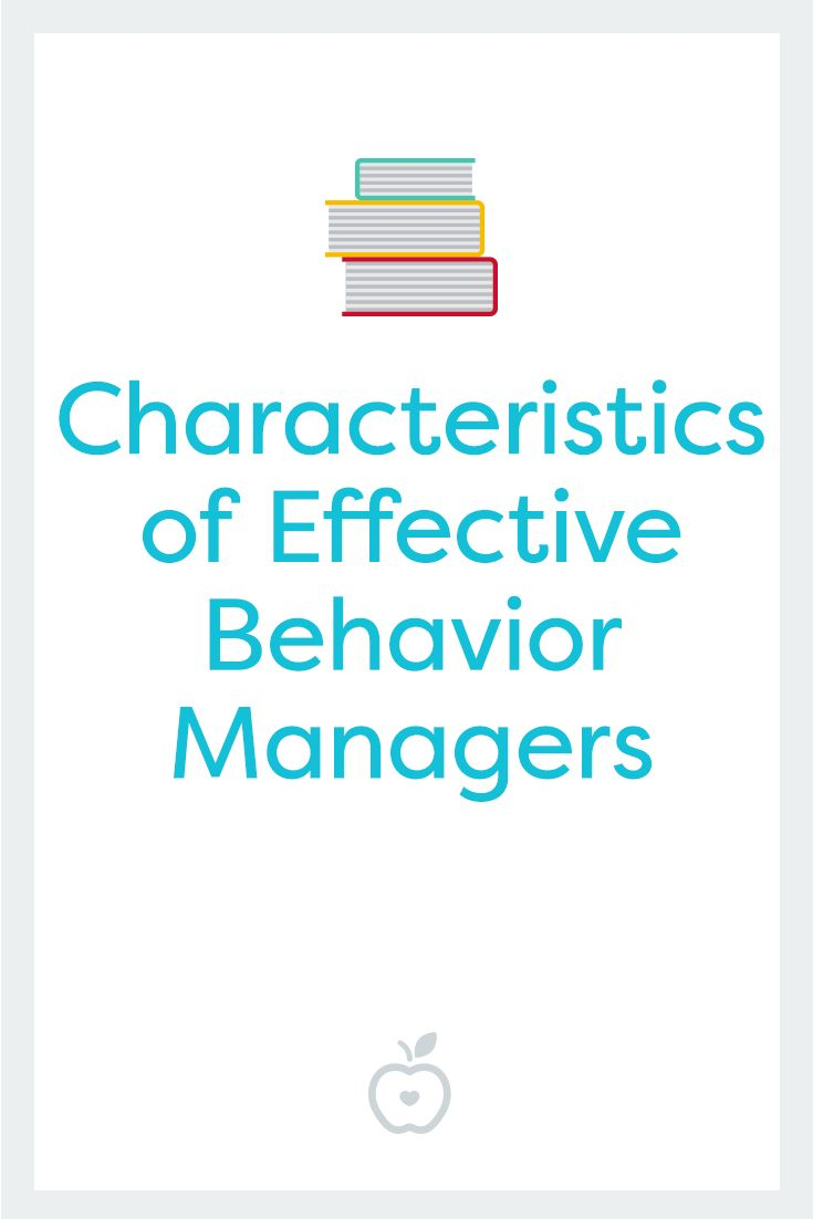 Improve behavior in your classroom by emulating the characteristics of teachers who are effective behavior managers.