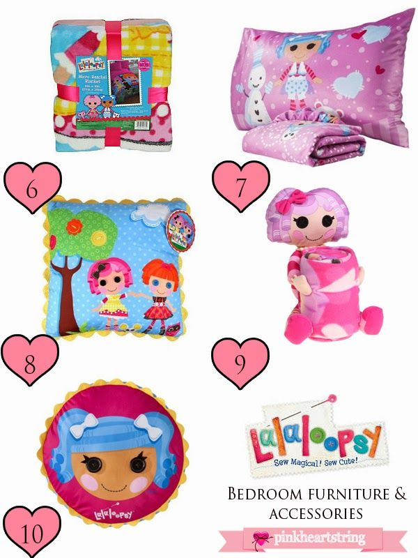 Lalaloopsy Bedroom Furniture and Accessories for Your Little Loveu0027s Bedroom ~ Pink Heart String  sc 1 st  Pinterest & 151 best Kieras bedroom images on Pinterest | Child room Girls ...