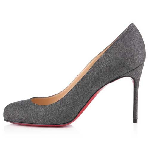 Christian Louboutin  Fifi 80mm Pumps Light Grey1 being unfaithful limited offer,no tax and free shipping.#shoes #womenstyle #heels #womenheels #womenshoes  #fashionheels #redheels #louboutin #louboutinheels #christanlouboutinshoes #louboutinworld