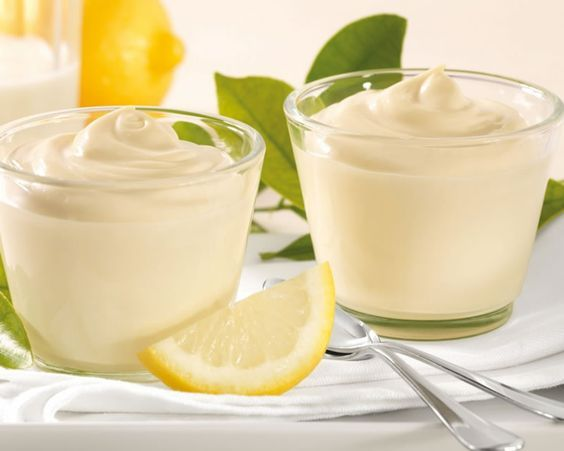 Crème dessert facile au citron thermomix