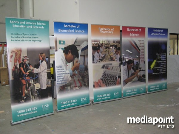 Pull Up Banners, Retractors and Exhibition Displays Australia