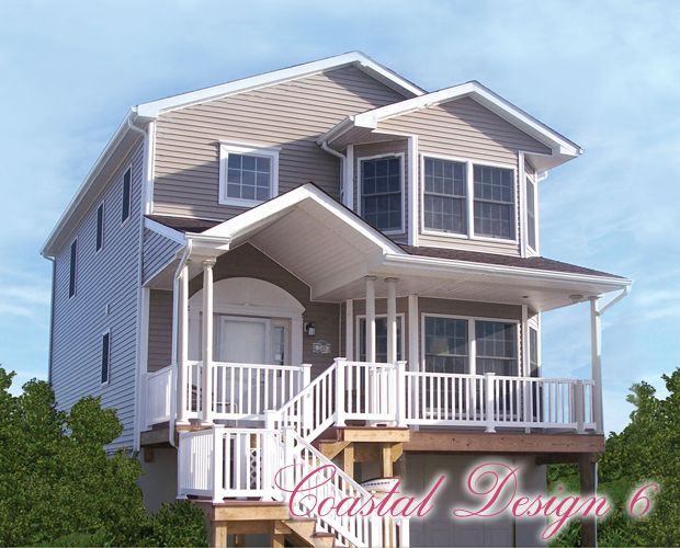 Modular home plans beach house for Modular beach house plans