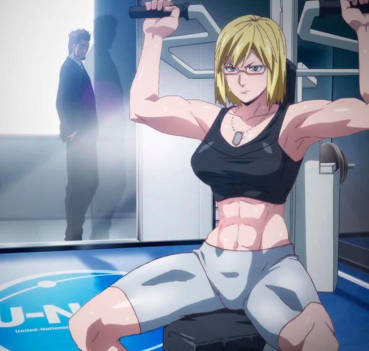 Terra Formars Revenge - Michelle K. Davis muscles by shinratensei1602