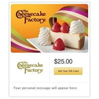 The Cheesecake Factory Fresh Strawberry Cheesecake Gift Cards - E-mail Delivery http://themarketplacespot.com/wp-content/uploads/2015/10/51Yn5BxyN0L-200x200.jpg   The Cheesecake Factory offers more than 200 menu selections including steaks, pastas, specialty salads, pizzas and fresh fish. Don't forget to save room for one of their more than 50 decadent cheesecakes and desserts.  Read  more http://themarketplacespot.com/category/the-cheesecake-factory-fresh-strawberry-cheeseca