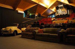 Interior view of Cinema Paradiso.
