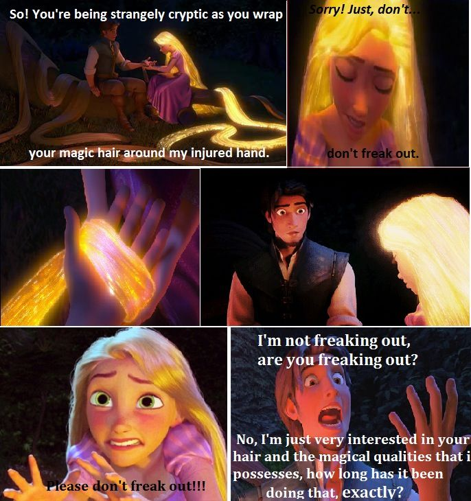 Funniest Meme Ever Made : I made this meme because tangled is the best movie ever