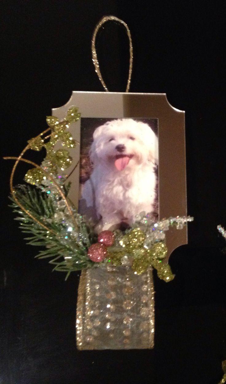 Maltese christmas ornaments - Maltese Christmas Ornament Bentley Puppy Love