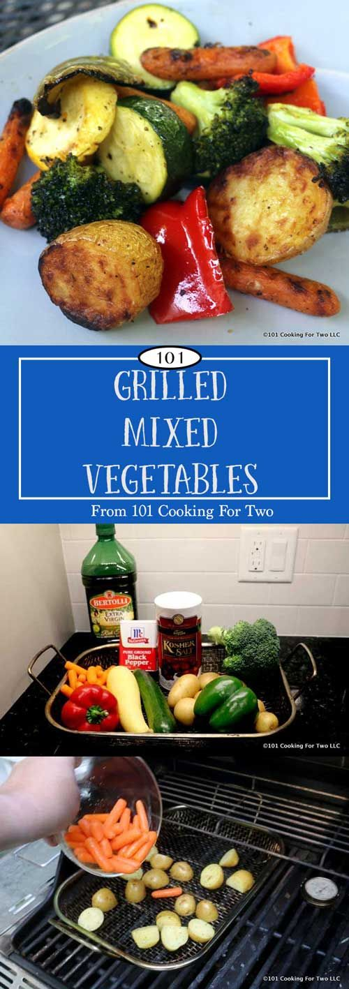 Grilled Mixed Vegetables from 101 Cooking for Two