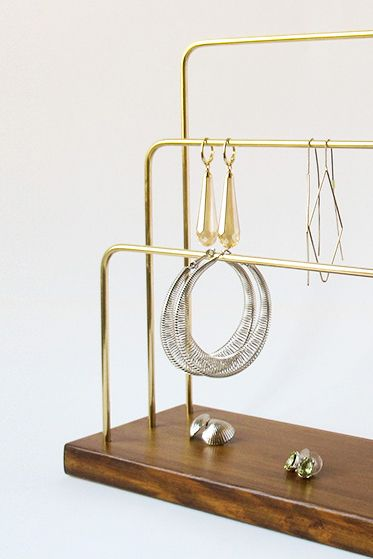 jewelry stand earring display earring stand jewelry rack rh pinterest com