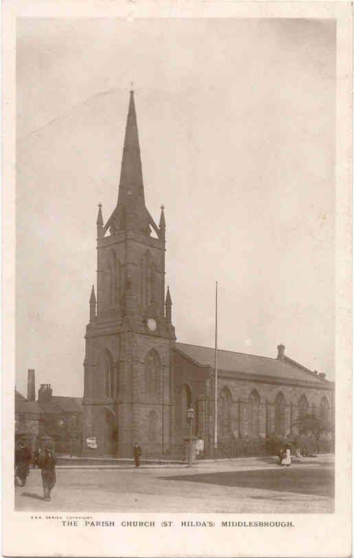 St Hilda's Parish Church, Middlesbrough  1913