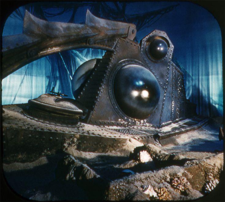 Rare Disneyland Leagues Under The Sea Exhibit View - 18 amazing rare colour photos disneyland 1955