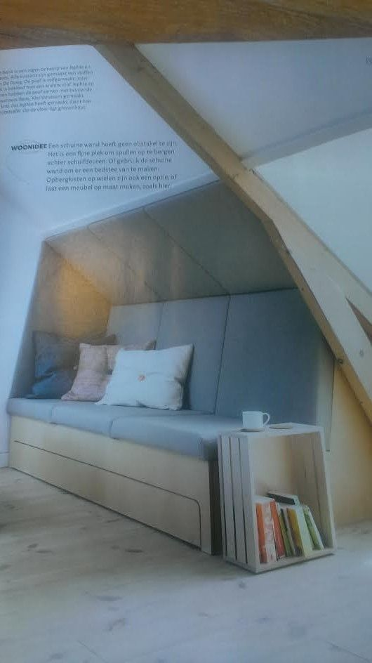 slaapbank voor zolder