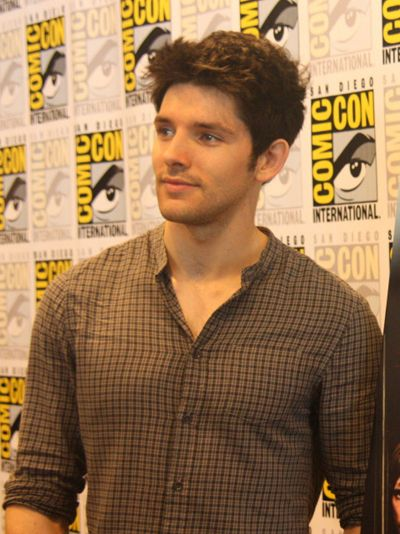 Colin Morgan is so attractive that everyone died<---That comment isn't funny after the last episode!