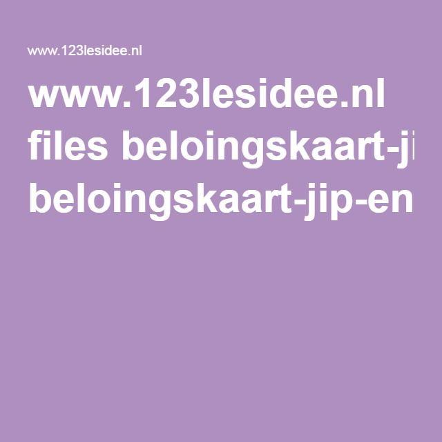 www.123lesidee.nl files beloingskaart-jip-en-janneke.pdf