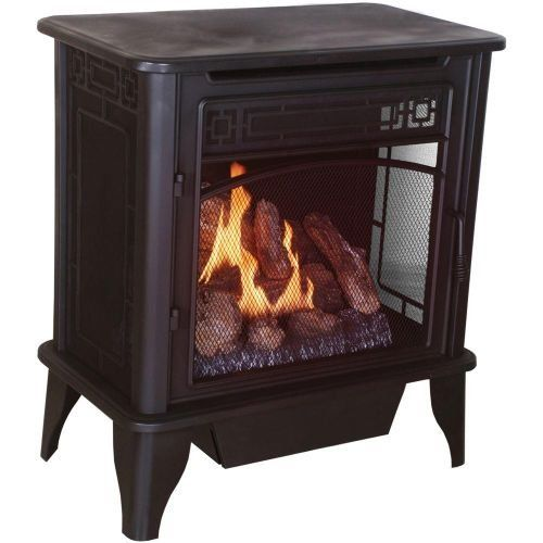 Vent-Free Dual Black Natural Gas Fuel Stove ProCom http: - 8 Best Images About Natural Gas & Propane > Freestanding Stoves