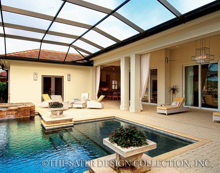 47 best florida style home plans - the sater design collection