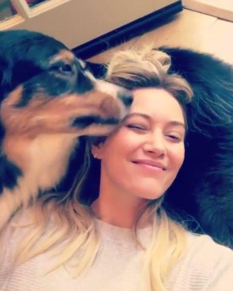 Хиллари Дафф показала, как её любит собака https://dni24.com/exclusive/127758-hillari-daff-pokazala-kak-ee-lyubit-sobaka.html  Хиллари Дафф показала, как её сильно любит её собака. Трогательное видео популярная американская певица и актриса опубликовала на своей странице в социальной сети Instagram.