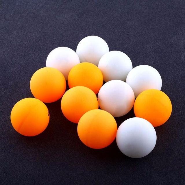 6Pcs 3 Stars DHS 40MM Olympic Table Tennis Orange Yellow Ping  Pong Balls Professional Trainning Competition Durable